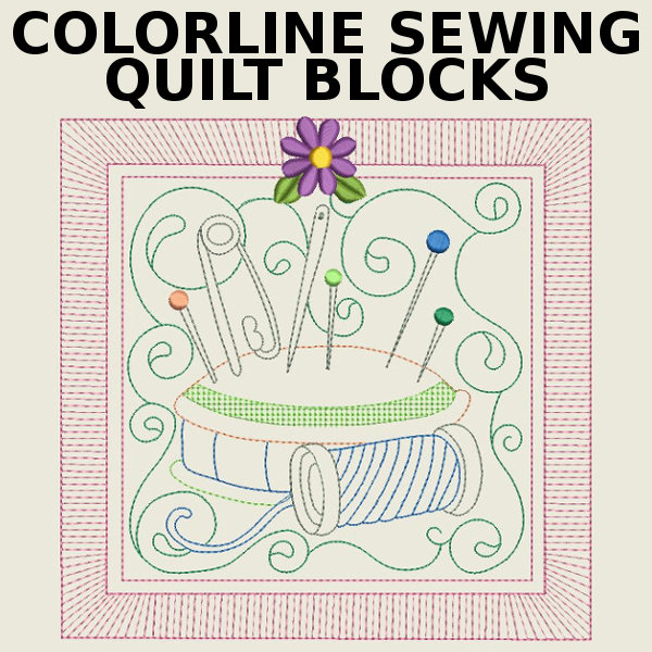 Colorline Sewing Quilt Blocks